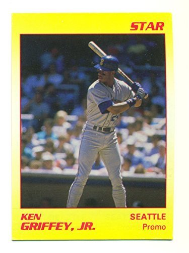1990 Star Ken Griffey Jr. Promo Card Yellow #NNO Very Rare Seattle Mariners