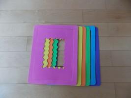 Crafting Foam Frames - Pink, Yellow, Orange, Green, Blue, Purple - $7.03
