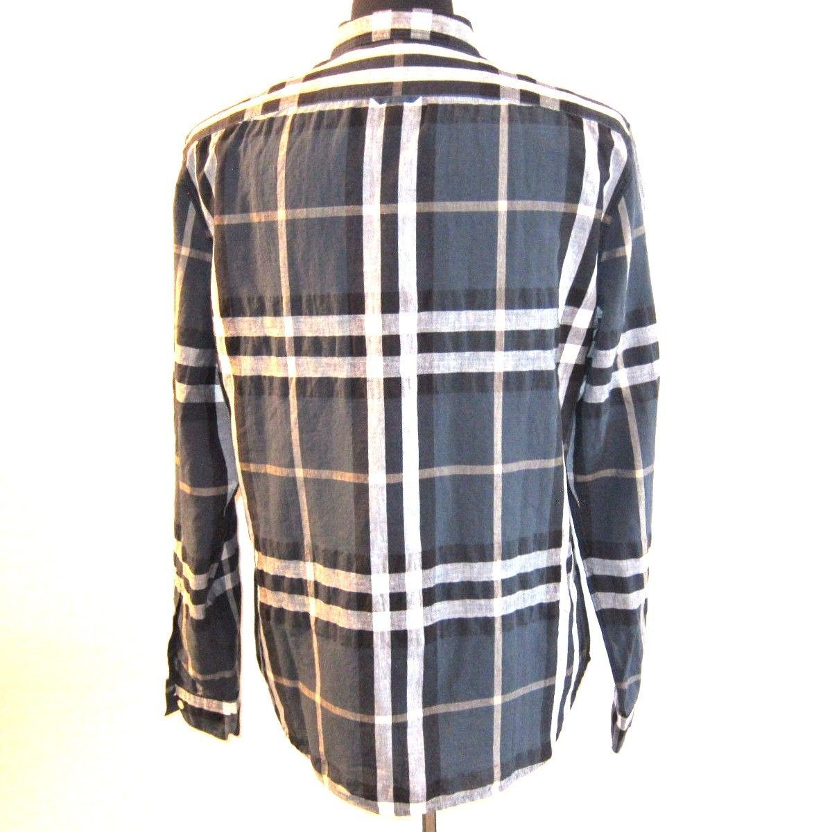 J 152114 new burberry brit green plaid and 50 similar items for Burberry brit green plaid shirt