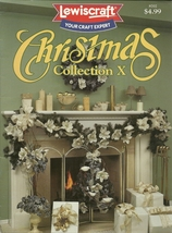 Christmas Collection X Craft Leaflet Book No. 8702 Lewiscraft - $9.99