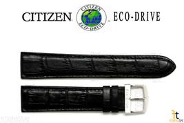 Citizen AT0120-02L Eco-Drive Original 20mm Montre Cuir Noir Bracelet - $82.50