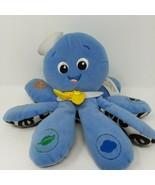 Baby Einstein OctoPlush Octopus Musical Toy Developmental Soft Plush Blu... - $8.56