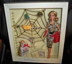 Charlotte Olympia Barbie Doll 2016 Gold Label NRFB (read)  - $259.99