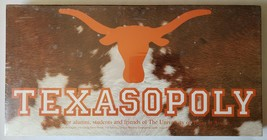 University of Texas Austin Texasopoly Board Game Late for the Sky New Sealed - $64.30