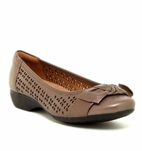 Clarks Women Propose Band Leather Slip On Shoes Variety Color&Sizes - $72.59