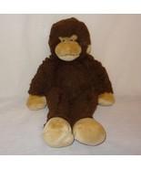 "Monkey Brown Stuffed Animal 17"" Plush Toy Build A Bear - $19.54"