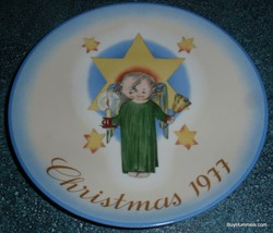 1977 Limited Edition Christmas Plate Herald Angel by Sister Berta Hummel GIFT! - $8.72