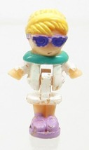 1994 Vintage Polly Pocket Doll Racy Roadster Ring - Polly Bluebird Toys - $6.00