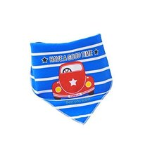 Pure Cotton,3Pcs Baby Neckerchief/Saliva Towel for Baby,Car