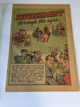 Refreshment Through the Ages Coke Coca Cola Comic Book 1951 - $12.19