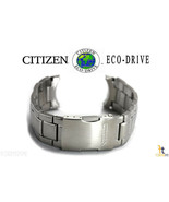Citizen Eco-Drive Original AT8010-58E 23mm Stainless Steel Watch Band AT... - $193.45