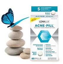 Acne Pill - All Natural Skin Clearing Minerals - Dermatologist Developed For All