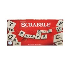 Classic Original Scrabble Board Game Kids Family Toy Fun Create Words Le... - $26.53
