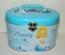 Walt Disney's Princess Illustrated Tin Sewing Box Tote Style B NEW UNUSED - $11.64