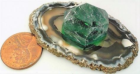 Agate quartz display  4