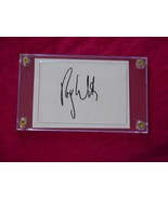 ROGER WATERS  Autographed Signed Signature Cut w/COA - 30746 - $60.00