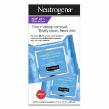 Neutrogena Makeup Remover Cleansing Towelettes, Refill Pack, 25 Count (2 Pack) - $37.19