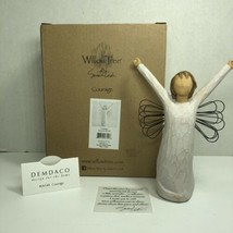 Willow Tree Courage Angel Figurine New 26149 Rare Retired Lordi Demdaco Collect - $34.64