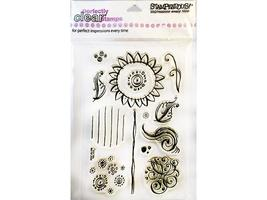 Stampendous Sunflowers Clear Stamp Set #SSC185 - $8.99