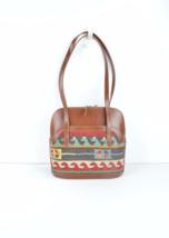 Leather Handbag, Shoulder Bag handbag ,leather and kilim bags,vintage bags . - $199.00