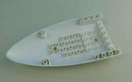 Lego Part 54090, Aircraft Fuselage White Airplane Lower Nose Piece Authe... - $5.93