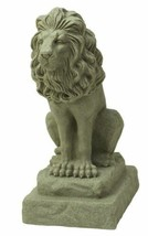 NEW Guardian Lion Regal Patio Garden Statue Outdoor Yard Decor Sitting 2... - $93.95
