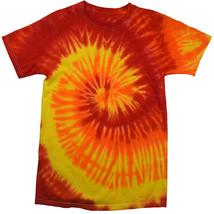 Orange Blaze TIE DYE T-SHIRT  mens womens  SIZE  M   L  XL 2X  3 X   4X  5X - $14.84+
