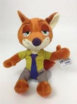 """NEW Disney Zootopia Nick Wilde Fox 9"""" Tomy Plush Stuffed Animal Toy w/ Tags - $11.83"""