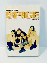 Vintage Cassette Tape Spice Girls WANNABE in Cardboard Sleeve - $6.92