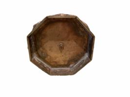 "Vintage 7 Branch Temple Menorah Solid Metal Brass 12"" Jewish Rotating Arms image 6"