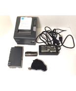 Epson TM-T88V M244A Ethernet Network POS Thermal Receipt Printer & Power... - $138.55
