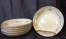 ChristineFine China of Japan  6 Vintage Fruit Dessert or Berry Bowls Dis... - $15.83
