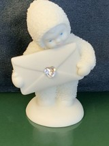 Dept 56 Snowbabies Extra Special Delivery Heart Swarovski Crystal April - $24.00