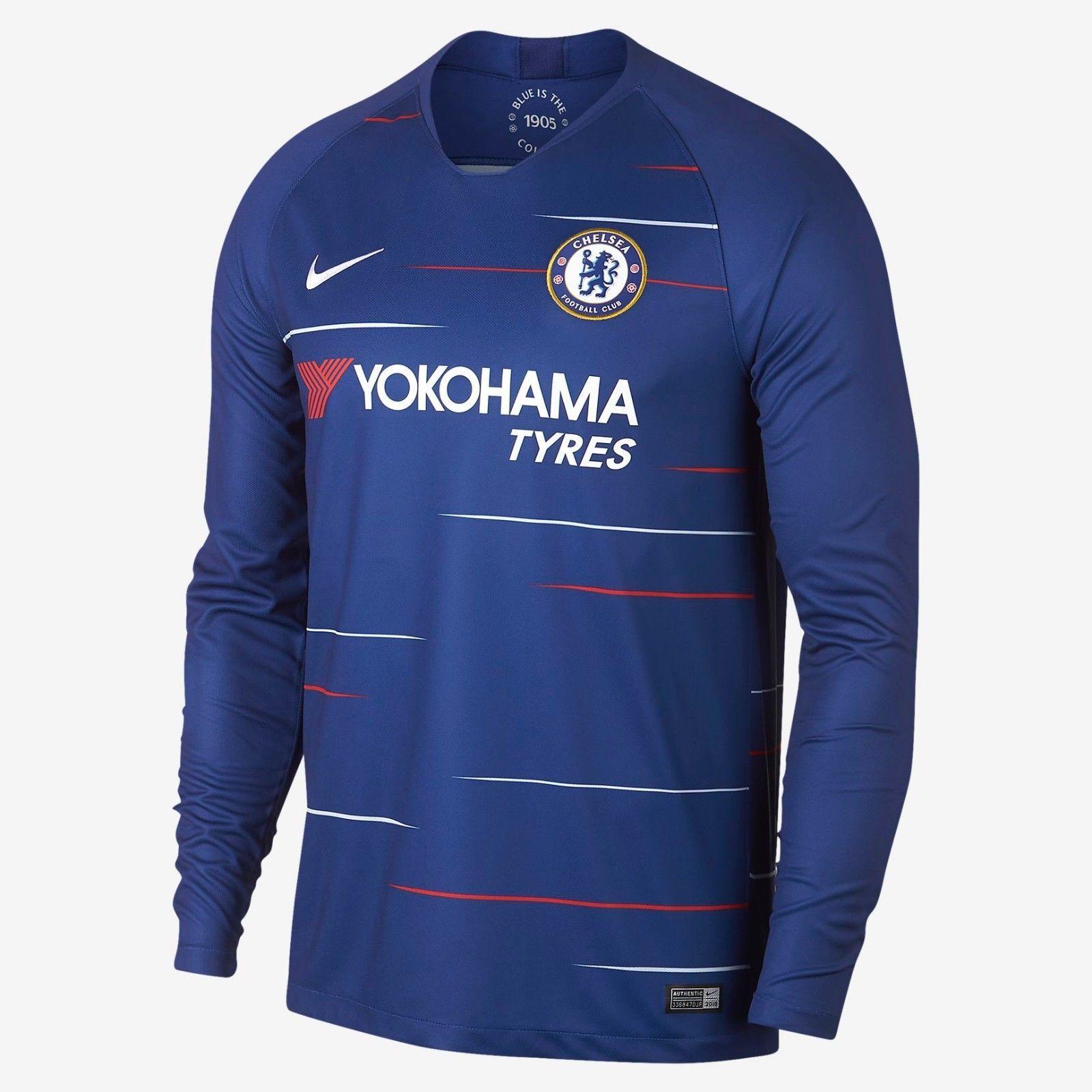 Nike Eden Hazard Chelsea Fc Long Sleeve Home and 40 similar items fa98bd44b