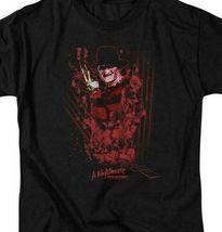 A Nightmare On Elm Street t-shirt Freddy Krueger retro horror graphic tee WBM554 image 3