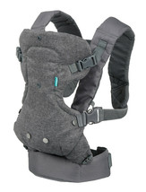 Infantino Flip Advanced 4-in-1 Convertible Baby Carrier Grey - $66.36