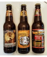 GROUNDHOG Day BREW Empty Bottle LOT 2007 2008 2009 Punxsutawney Phil Str... - $29.68