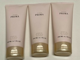 Avon Prima Shower Gel 6.7 Fl Oz Lot Of 3 New Sealed - $18.00