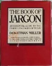 Book of Jargon Miller & berry - $10.88