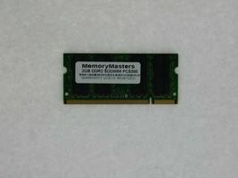 2GB DDR2 667MHz PC2-5300 Acer Aspire One Revo Timeline Mémoire Sodimm RAM