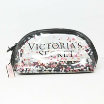 Victoria's Secret Sequin Print Sparkle Clear Cosmetic Make-Up Bag Accessory $24 - $9.80