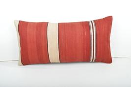 12x24'' lumbar pillow bohemian cushion Kilim Pillow Throw Pillow lumbar pillow  - $39.00