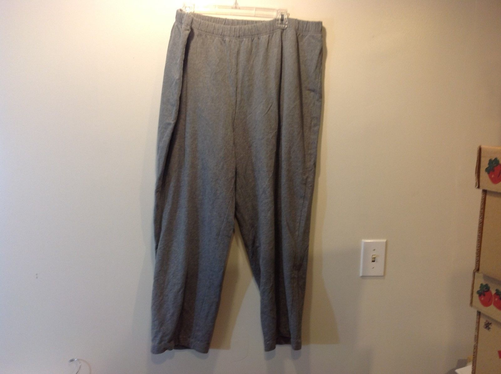 The Factory Light Grey Sweatpants Sz 3X