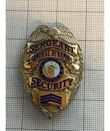 General Dynamics Sargent Security Police Badge - $165.00