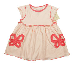 FIRST IMPRESSIONS NEW INFANT GIRLS PINK BOWS TUNIC DRESS 18M - $6.92