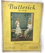 Butterick Quarterly Summer French Fashions 1927 magazine dresses vintage... - $62.10