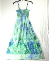 2b3699c2c4d1 Lapis Anthropologie Dress Skirt One Sz Women Green Convertible Sun Tube  Stretch - $29.65