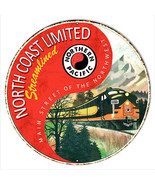 Northern Pacific Reproduction Railroad Metal Sign 18x18 Round - $46.53