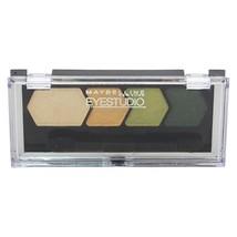 Maybelline Studio Color Plush Quad Eye Shadow for Women - $7.90