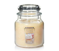 Yankee Candle Vanilla Cupcake Medium 14.5oz 65-75 Hrs  - $25.00